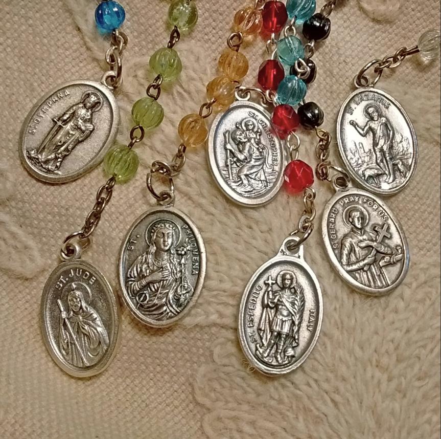 Hoodoo Rootworker's Seven-Way RosaryChaplet